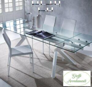 Tavolo Allungabile In Cristallo Acquisti Online Su Ebay