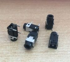 3.5mm Mini Audio Phone Jack Right-Angle Through Hole PCB Mount   5 PIECES  Z2434