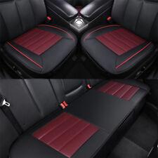 3D Universal Auto Sitzbezug Schonbezüge Sitzbezüge PU Leder Atmungsaktiv Set