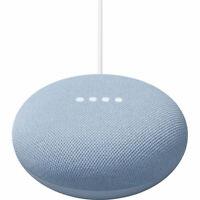 Google Nest Mini 2nd Gen Smart Speaker w/ Google Assistant Sky Blue - GA01140-US