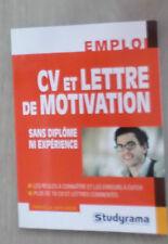 CV ET LETTRES DE MOTIVATION SANS DIPLOME NI EXPERIENCE CAPO-CHICHI CHRISTELLE