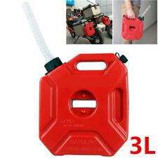 3L Portable Jerry Can Plastic Water Fuel Tank ATV Motorcycle Gokart Pocket Bike