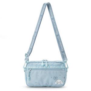 Girl's Blue Cinnamoroll Crossbody Bag Canvas Sport Shoulder Bag Birthday Gift