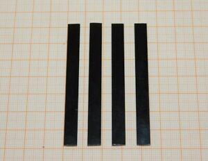 4x Federstahl Stahl Flachstahl 7,0x0,92x6,9 Federn RC Modellbahn Blattfedern