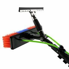 MAXBLAST 30ft Window Cleaning Pole / Water Fed Telescopic Brush / Extendable