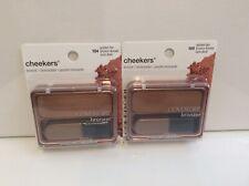 Lot of 2 Covergirl Cheekers Bronzer powder *104 Golden Tan*