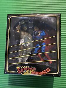 "SUPERMAN vs. MUHAMMAD ALI DC Comics 7"" inch Action Figure 2-pack by NECA"