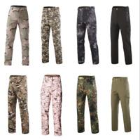 Tactical Sharkskin TAD Pants Men's Military Soft Shell Fleece Trouser Waterproof