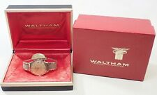 VINTAGE MENS WALTHAM 100 JEWEL SELF WINDING WRISTWATCH WATCH W/ BOX