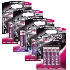 16 X Tecxus AAA 600 mAh RICARICABILE CASA DECT Cordless Telefono Batterie per fotocamera