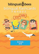 Bilingual English - Mandarin Chinese - FLASHCARDS - Animals