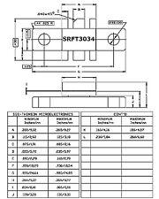 4x UHF Sende Transistor von MOTOROLA SRFT3034 Power 35W bis 1000 MHz 7dB