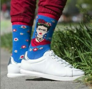 Womens Frida Kahlo Socks (Pair) Frida Kahlo Gift Present