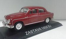 YUGO ZASTAVA 1400 BJ (FIAT/SEAT 1400) LEGENDARY BALKAN CARS DEAGOSTINI IXO 1/43