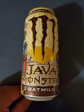 1 Monster Energy Java Oatmilk Farmer's Oats Vegetarian Energy Drink