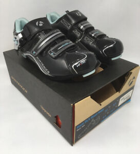 NEW Bontrager DLX Road WSD EU 37 US 5.5 Women's Black Cycling Shoes MSRP $130