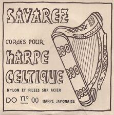 SAVAREZ Corde à l'unité Harpe Celtique Nylon et filée sur acier DO N°00