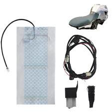 12V Universal Motorrad ATV UTV mit Schalter Sitz Kissen Carbon Sitz Heizung U6I6