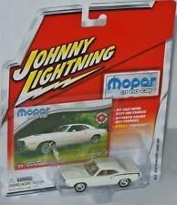 Mopar o.n.c. - 1970 Plymouth Cuda 340-White - 1:64 Johnny Lightning