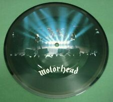 """Motorhead Over the Top 1981 7"""" 45RPM Record Picture Vinyl UK 18D153"""