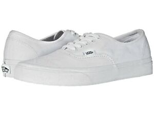 Vans Authentic Skate Shoes Adult Unisex True White VN000EE3W00 All Sizes