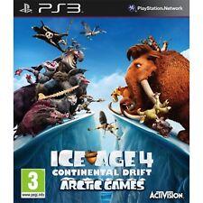 ICE Age 4 Juegos Ártico deriva continental PS3 PlayStation 3 video juego como nuevo