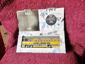 THE BEATLES LARGEST DIECAST CORGI MODEL MAGICAL MYSTERY TOUR COACH BUS AWESOME !