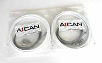 Aican Bike bicycle Shift Derailleur Road cable housing set kit vs Jagwire, White