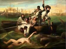 Copley Watson tiburón viejo maestro Arte Pintura Impresión 12x16 pulgadas cartel 1653OM