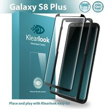With Free Easy Kit Klearlook Samsung Galaxy S8 Plus Case Friendly Tempered Glass