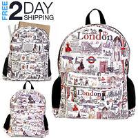 Women Backpack Back to School Bag Shoulder Rucksack Laptop Bookbag Girls