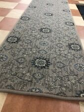 Carpet Runner 400cmX61cm Traditional Floral  Woven Wilton Very Long Hall Rug