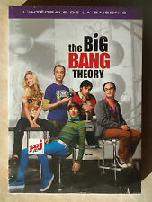 15245//THE BIG BANG THEORY SAISON 3  COFFRET  NEUF SOUS BLISTER
