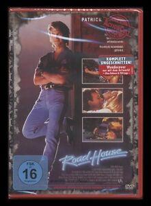 DVD ROAD HOUSE - UNGESCHNITTEN - UNCUT - PATRICK SWAYZE + SAM ELLIOTT ** NEU **