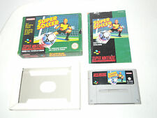 SUPER SOCCER complete in box with manual PAL snes super nintendo videogame