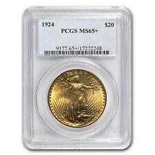 $20 Saint-Gaudens Gold Double Eagle MS-65+ PCGS (Random) - SKU #64301