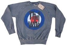 Amplified vintage the who 60'70'er culte Logo sweat-shirt sweater pull shirt M 50