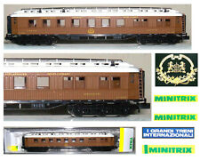 MINITRIX 15800 CARROZZA RISTORANTE CIWL ORIENT EXPRESS con LUCI CABINA SCALA-N