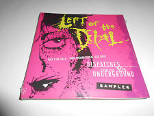 Left Of The Dial Dispatches From The 80s Underground CD Sampler 18 Tracks NEW
