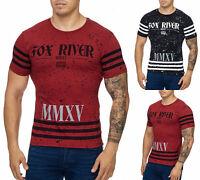 Herren T-Shirt Poloshirt Shirt Kurzarm Printshirt Polo Kurzarm 001 John Kayna