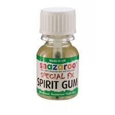Snazaroo Spirit Gum Moustache Beard & Wig Glue 10ml Make Up