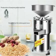 220V eléctrica comercial mantequilla de maní máquina de máquina de pulir amoladora Sésamo