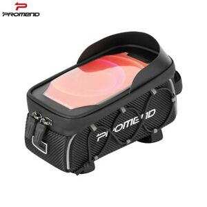 "1PC - Bicycle Front Top Tube Frame Bag 6.5"" MTB Road Bike Phone Holder Case"