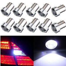10x HID White 1156 BA15S 2835 6 SMD LED Bulb Car Turn Signal Rear Tail Light 12V