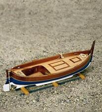 "Beautiful, Mini Wooden Model Ship Kit by Mamoli: the ""Gozzo Mediterraneo"""