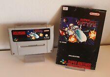 Super R-Type-original Super Nintendo SNES módulo + instrucciones b609