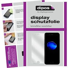 6x Apple iPhone 7 Schutzfolie klar Displayschutzfolie Folie dipos Displayfolie