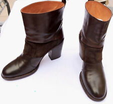MAISON MARTIN MARGIELA WOMEN'S BOOTS SHOES SIZE 8 / EU38 - BROWN -