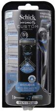 [Schick] Hydro 5 Custom Hydrate Razor,Sense,Blue - 1 Razor + 7 Refill Cartridge