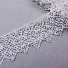 "Antique Style  Embroidery Cotton Crochet Lace Trim 2.6""(6.5cm) Wide 1Yd"